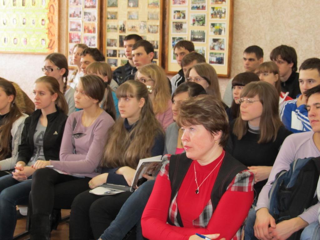 Встреча с учащимися и учителями  11 классов в р.п. Ардатов